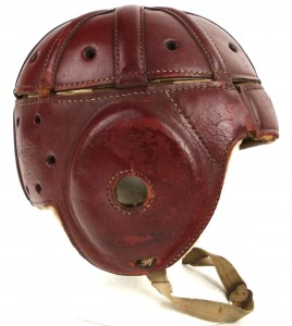 Antique Football Helmet
